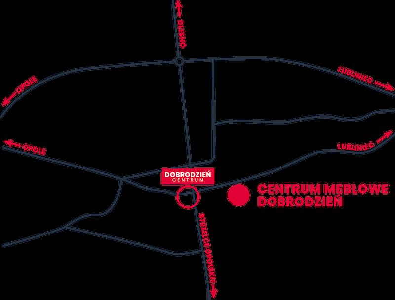 cmd - mapa dojazdu